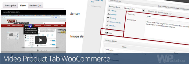 Video Product Tab WooCommerce