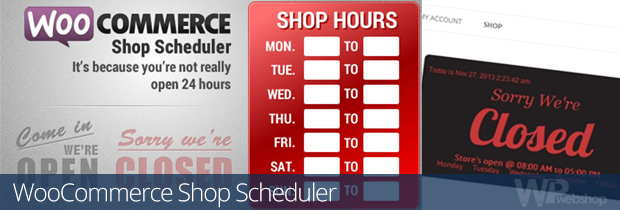 WooCommerce Shop Scheduler