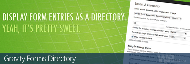 Gravity Forms Directory