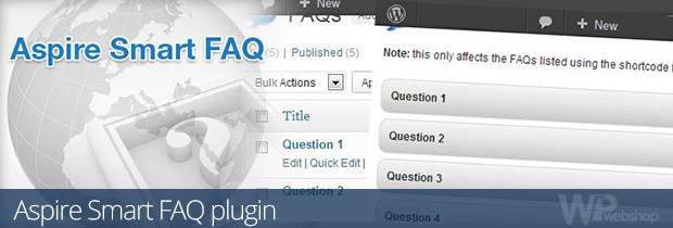 Aspire Smart FAQ plugin