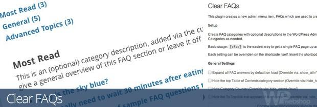 Clear FAQs